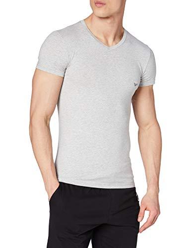Emporio Armani 110810CC729 T-shirt Uomo Grigio X-Large