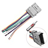 Stereo Radio Wiring Harness Antenna Adapter Replacement for Most GM Chevy GMC Pontiac Oldsmobile