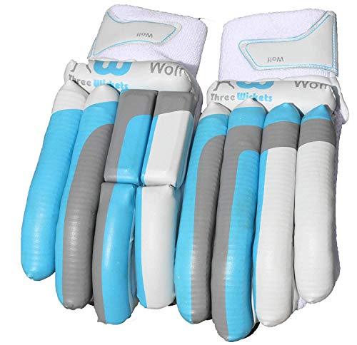 Three Wickets Cricket-Handschuhe für Linkshänder