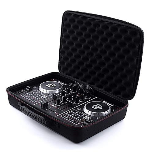 Exanko Estuche RíGido de EVa para el Controlador de DJ de Arranque Numark Party Mix VDJ8 - Caja de Almacenamiento Protectora de Viaje