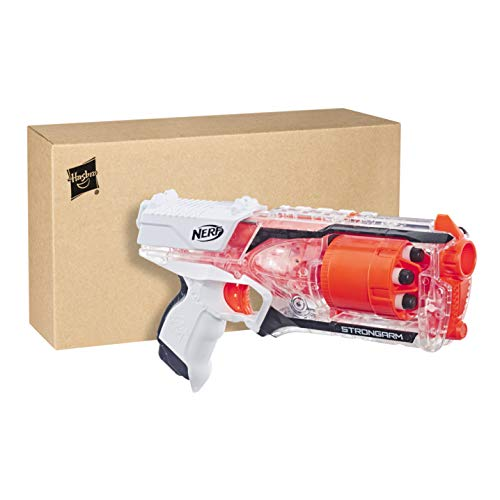 Nerf- Strongarm Clear, Color transparente (Hasbro E5753F03)