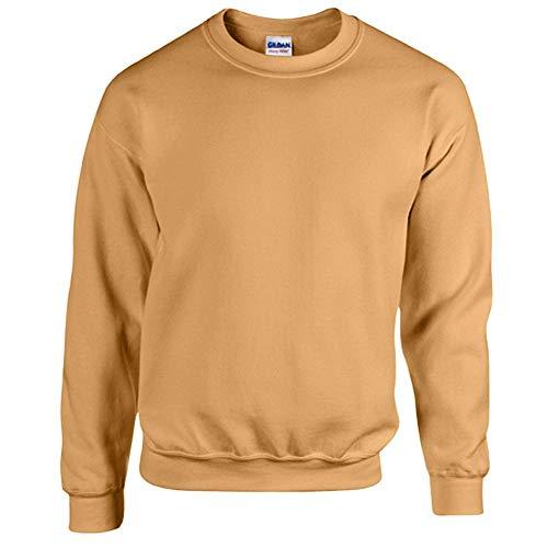Preisvergleich Produktbild Gildan - Heavy Blend Sweatshirt - bis Gr. 5XL / Old Gold