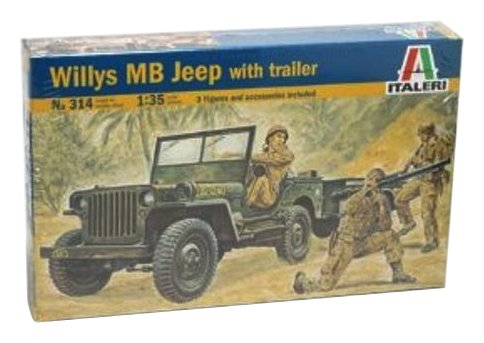 Italeri 0314S - Willys Jeep