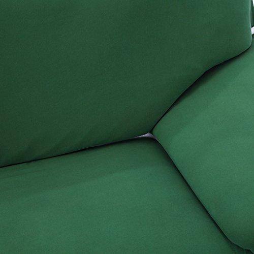 CUTICATE Ohrensesselbezug Stretch Sofa Überwürfe Sofabezug Sofahusse Sofa Abdeckung Ohrenbackensessel Sesselbezug - Grün