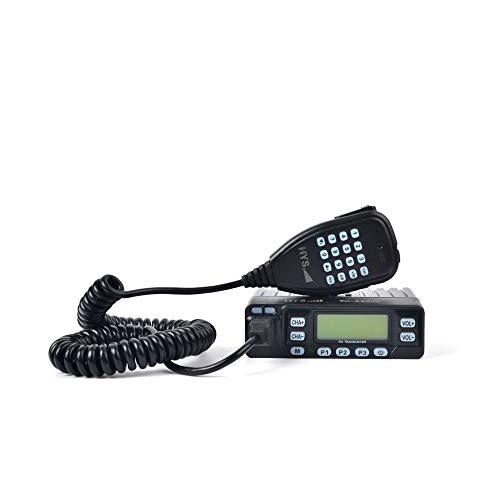 HYS Dual Band 136-174/400-480MHz 25W/10W/5W UHF/VHF Mini Amateur Car Radio Vehicle Mobile Transceivers
