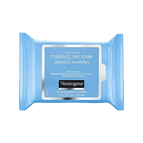 Make-up Remover Cleansing Towelettes Refill Pack by Neutrogena for Unisex - 25 Pc Towelettes