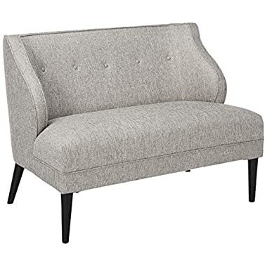 Madison Park FPF18-0412 Sorano Tufted Round Arm Settee