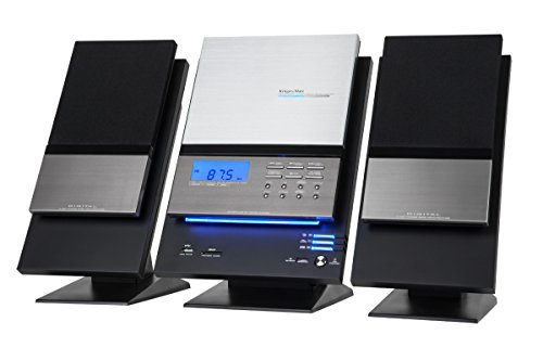 Krüger&Matz KM7089 HiFi Lautsprechersystem Chrom/schwarz
