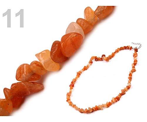 1pc Collar de Cornalina De Mineral Fichas, Y el Río de la Perla de la Joyería, Collares