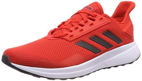 adidas Duramo 9, Zapatillas de Running Hombre, Rojo (Active Red/Core Black/FTWR White Active Red/Core Black/FTWR White), 43 1/3 EU