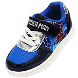 [アベンジャーズ] [スパイダーマン] Spider-Man キッズ 男の子 ブルー スニーカー シューズ 運動靴 (16.0 cm) [並行輸入品]