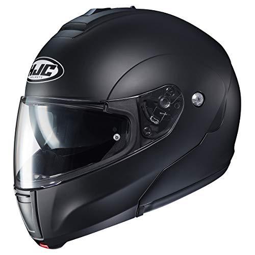 HJC CL-Max 3 Men's Snowmobile Helmet - Semi-Flat Black/Large