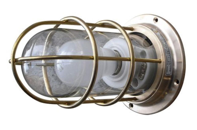 カスケードキリマンジャロボトルネックマリンランプNEWデッキライトゴールド 船舶照明