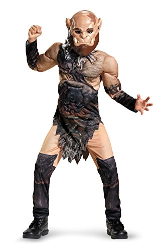 Disguise Orgrim Classic Muscle Warcraft Legendary Costume