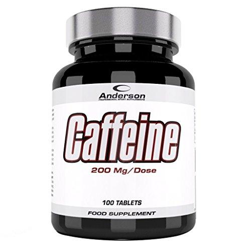 Anderson Caffeine Suplemento Alimenticio de Cafeína - 2000 gr