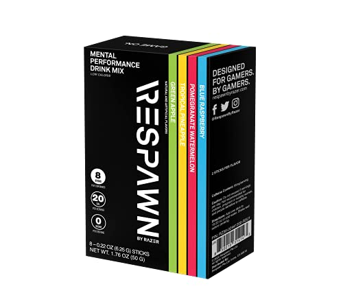 42% off RESPAWN by Razer Mental Performance Drink Mix: 8ct Variety Pack - $5.78