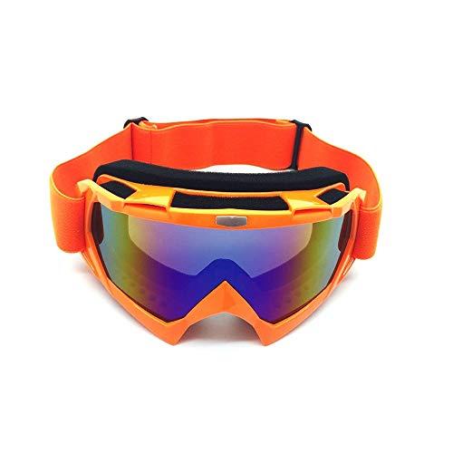 Yi-xir Fashion Design Goggoli da Corsa di Motocross Fuori Occhiali da Equitazione Occhiali Occhiali Antivento Occhiali da Sci Antivento Classico Perfetto (Color : 1, Size : 20 * 10cm)