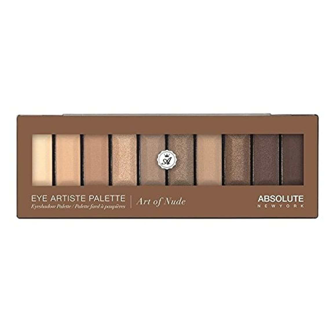 透ける嬉しいです医療の(3 Pack) ABSOLUTE Eye Artiste Palette - Art Of Nude (並行輸入品)