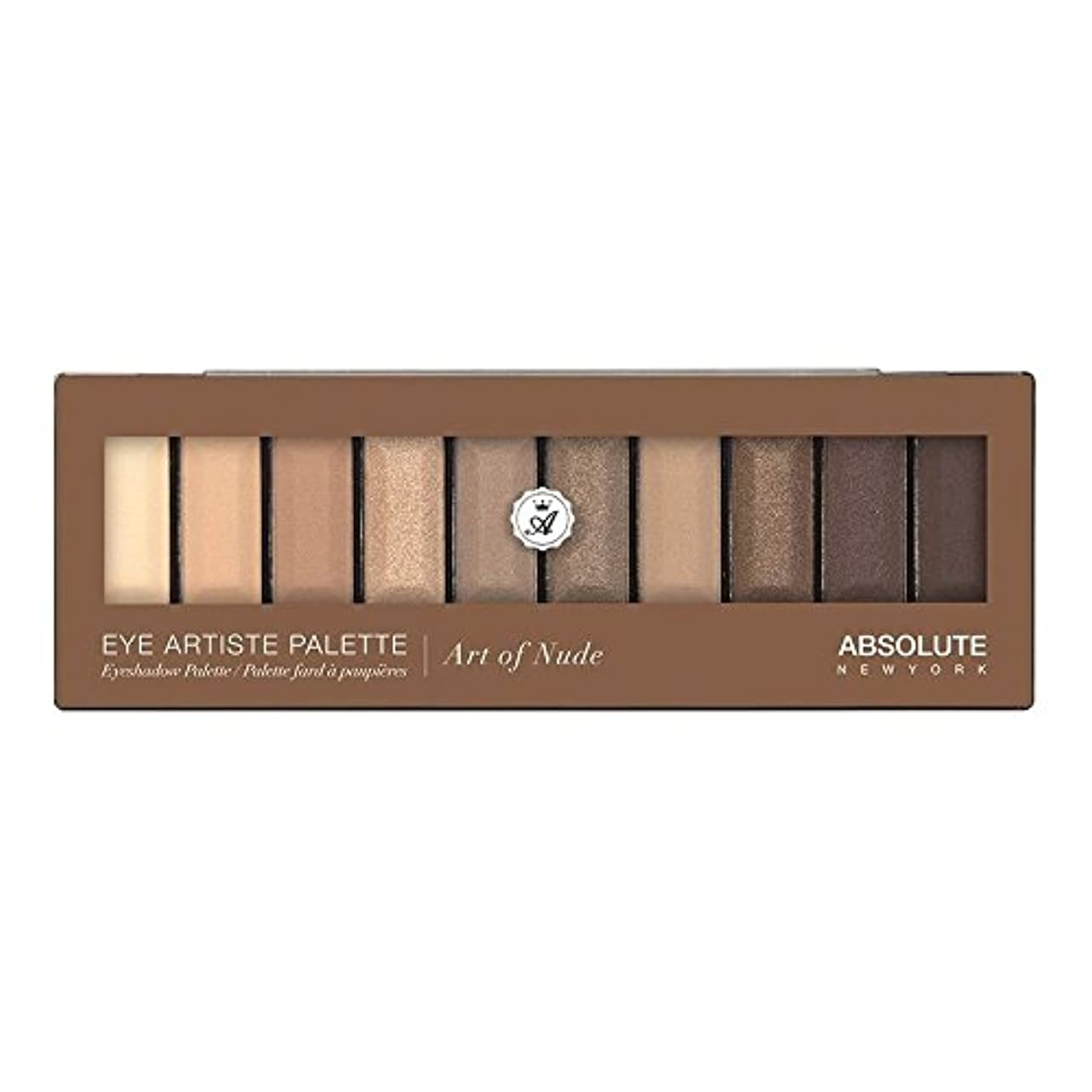 遠い資本メイト(3 Pack) ABSOLUTE Eye Artiste Palette - Art Of Nude (並行輸入品)