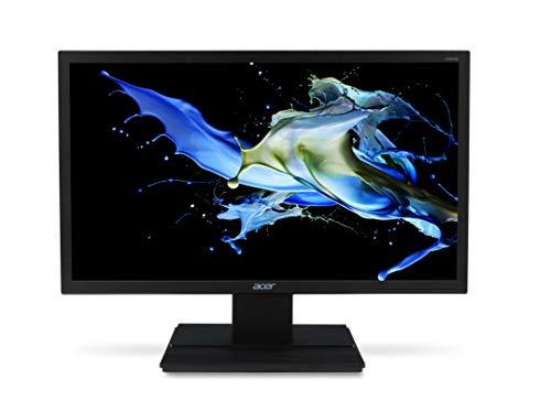 "Acer V206HQLAb Essential - Monitor de 19.5"" (pantalla LED, 1600 x 900 píxeles, puerto VGA, 16.2o W), color negro"