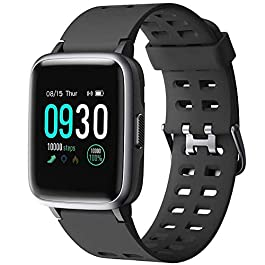 Willful Montre Connectée Femmes Homme Smartwatch Montre Intelligente Sport Cardiofrequencemetre Etanche IP68 Trackers d…