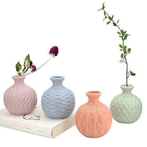 GeLive Ceramic Ikebana Vase, Flower Arrangement, Decorative Bud Hydroponics...