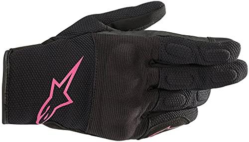 Alpinestars Motorradhandschuhe Stella S Max Drystar Gloves Black Fuchsia, BLACK/FUCHSIA, L