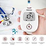 Zoom IMG-1 misuratore glicemia sinocare diabete test