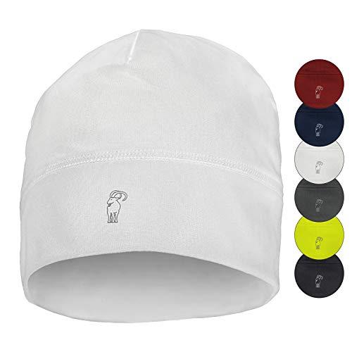 ALPIDEX Running Mütze Sportmütze Laufmütze Damen Herren Funktionsmütze One Size, Farbe:White