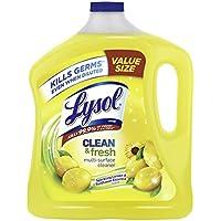 Lysol Lemon & Sunflower Clean & Fresh Multi-Surface Cleaner, 90 oz