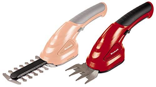 Einhell Akumulatorowe nożyce do trawy i krzewów GC-CG 3,6 Li (3,6 V, 1500 mAh, szerokość cięcia noża do cięcia trawy 7 cm, szerokość cięcia 10 cm