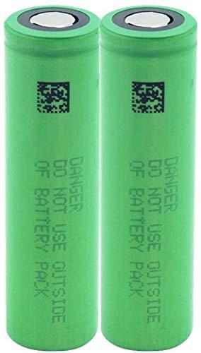 2 Pieces Us18650 Vtc6 3.7V 3000 Mah Lithium Li-ION Battery for Rc Toy Flashlight External Battery Microphone Radio Headlight