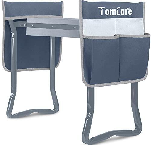 TomCare Upgraded Garden Kneeler and Seat Widen Soft Kneeling Pad Garden Tools Stools Garden Bench...