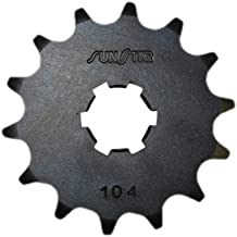 Sunstar 10415 15-Teeth 420 Chain Size Front Countershaft Sprocket