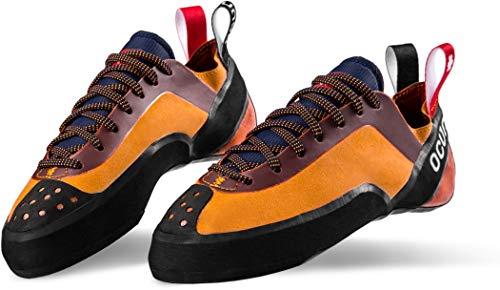 Ocun Crest LU Kletterschuhe orange Schuhgröße UK 8 | EU 42 2020 Boulderschuhe
