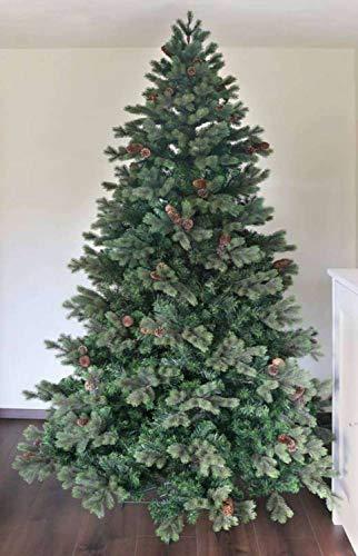 Künstlicher Weihnachtsbaum mit Zapfen, 480 cm