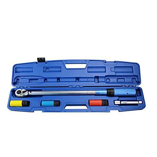 Llave de torsión, unidad de trinquete, llave manual ajustable, herramienta de llave, kit de mantenimiento de bicicletas de alta precisión, herramientas de mano de 5pcs