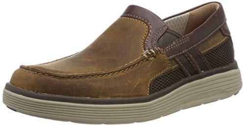 Clarks Herren Slipper, Braun (Light Tan Leather), 44.5 EU