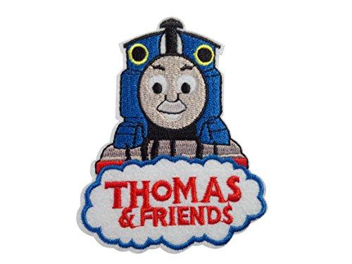 アイロンワッペン 【Thomas】 トーマス 前向き ロゴワッペン アメリカン雑貨 並行輸入