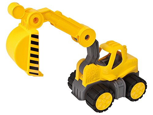 Big - 800056835 - Vehicule Enfant - Big Power Truck Pelleteuse - Jeu de Sable - Jaune