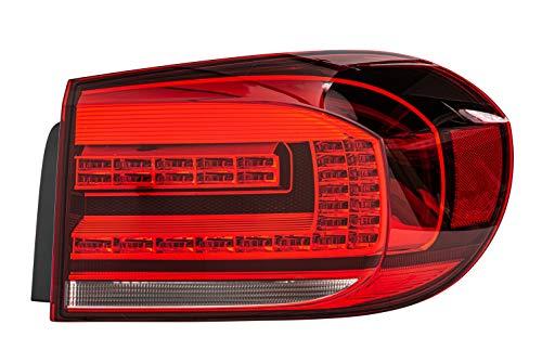 HELLA 2SD 011 715-061 Heckleuchte - LED - weiß/rot - äusserer Teil/oberer Teil - rechts - für u.a. VW Tiguan (5N_)