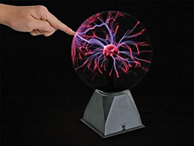 Lámpara mágica de bola de plasma, control musical o manual