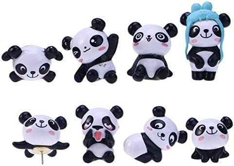 Sales of SALE items from new works Clips Panda Shape Thumbtacks Cute Pins Cartoon Pin Push Drawing Cheap mail order specialty store
