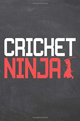 Compare Textbook Prices for Cricket Ninja: Cricket Notebook or Journal - Size 6 x 9 - 110 Dot Grid White Pages - Office Equipment, Supplies - Funny Cricket Gift Idea for Christmas or Birthday  ISBN 9798622384547 by Gregerson, Jens