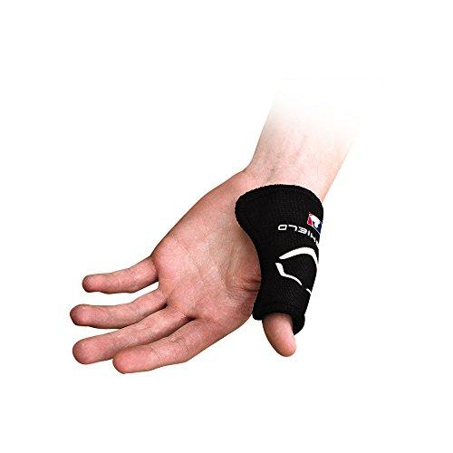 EvoShield MLB Catcher s Thumb Guard - Black, Small Medium