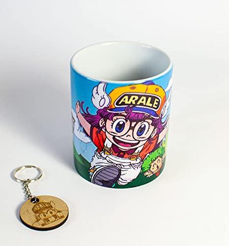 Taza + Llavero Arale