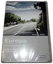 Original Audi tarjeta material MMI 2G Europa 2016-4e0060884EH