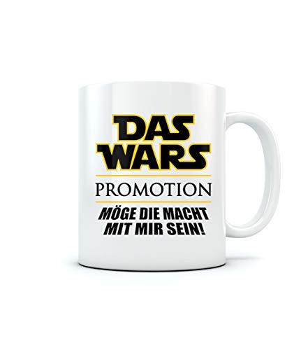 Uni - Das Wars - Promotion - Geschenk zum Abschluss Kaffeetasse Tee Tasse Becher 11 Oz. Weiß