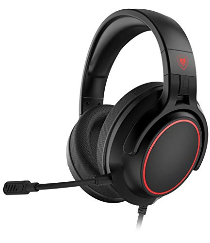 NUBWO N20 Stereo Gaming Headset for PS4, Xbox One, PS5 Controller, PC, Over Ear Headphones with Microphone, Noise Cancelling Mic, Bass Surround, Soft Memory Earmuffs for Xbox Series X Games