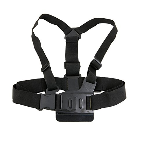 Generic Adjustable Chest Body Harness Belt Strap Mount for Gopro HD Hero 1 2 3+ 4 SJ4000 SJ5000 SJ6000 Sport Camera Accessories